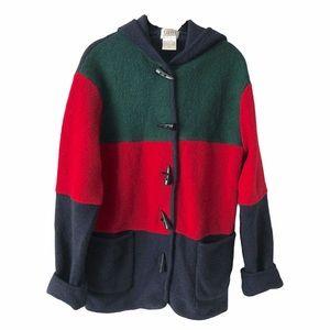 Tabi 100% Wool Colour Block Jacket small